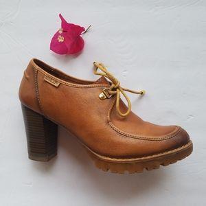 Pikolinos Heel Oxford Bootie 38